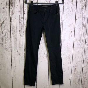 EXPRESS Black Mid Rise Skinny Jeans 2